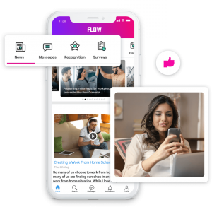 employee communications mobile app