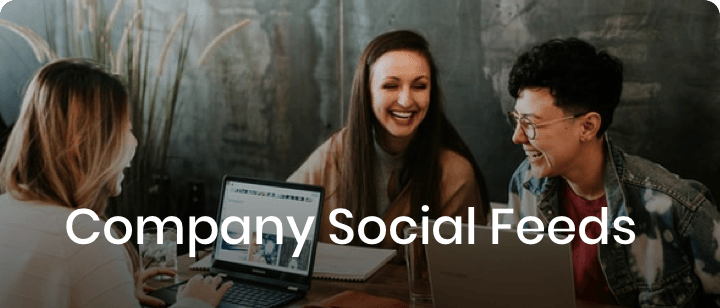 Company Social Feeds