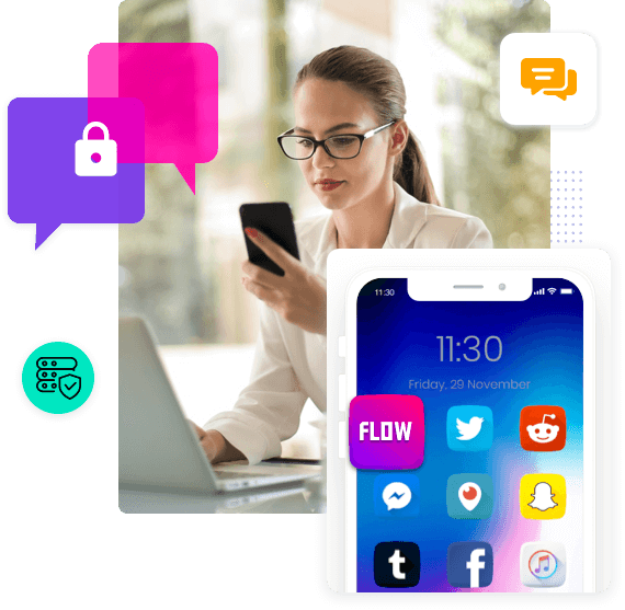 Secure messaging experience for enterprises