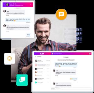 Peer to Peer or Group Messaging