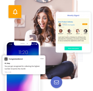Push notify and email recognition alerts
