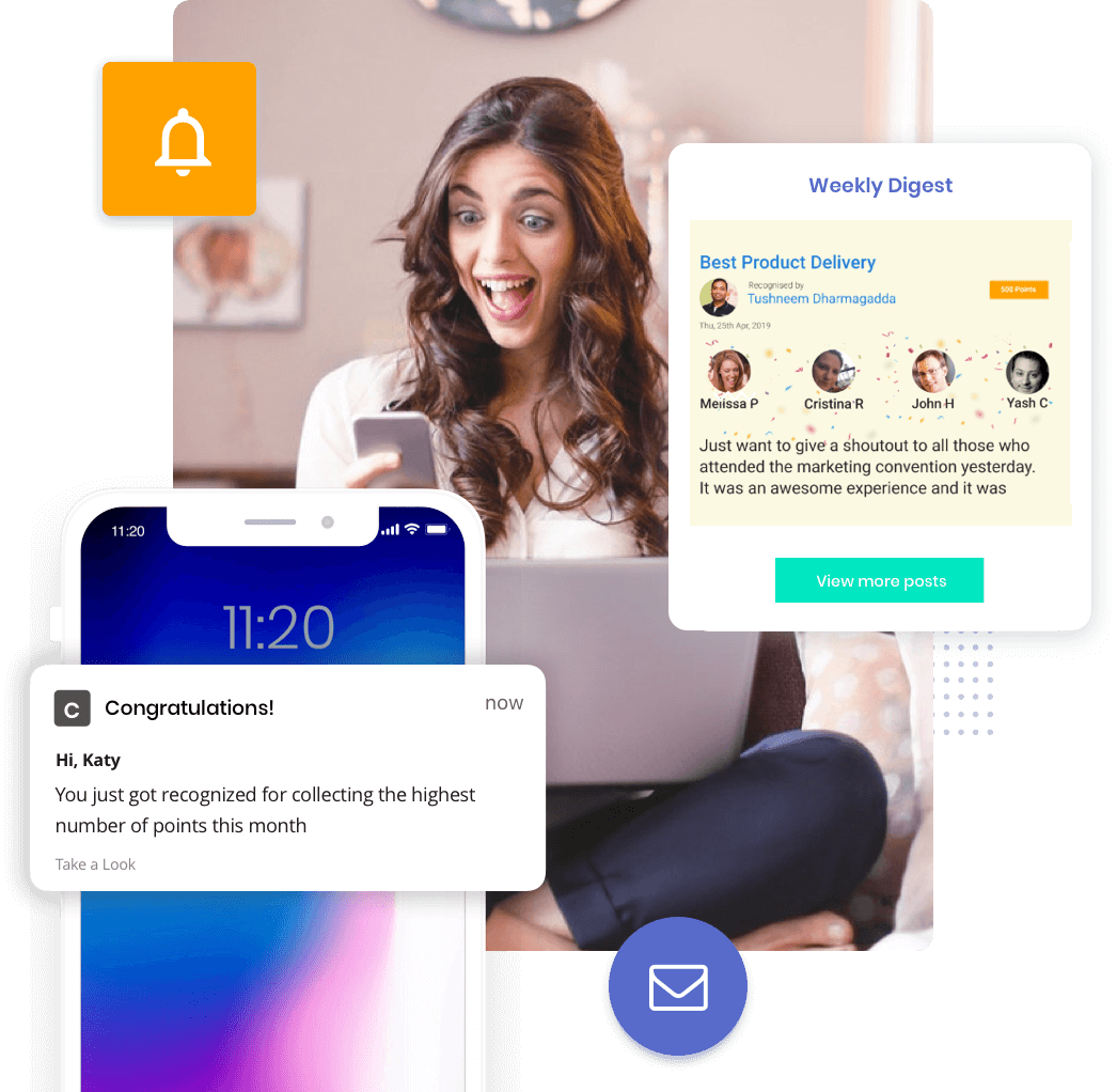 Push notify and email