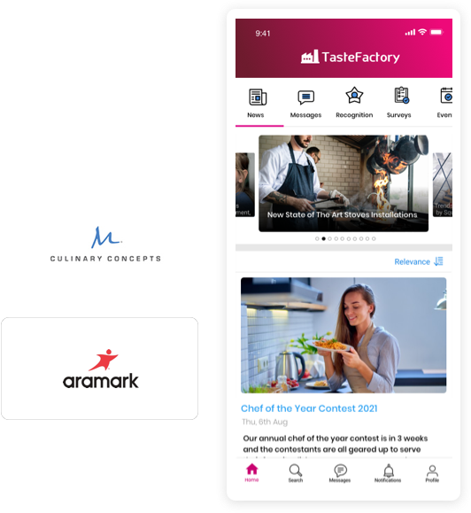 Employee Experience Platform for the Foodservice Industry