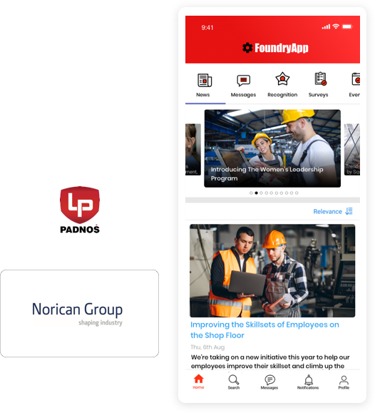 Communications Platform for Manufacturing Employees