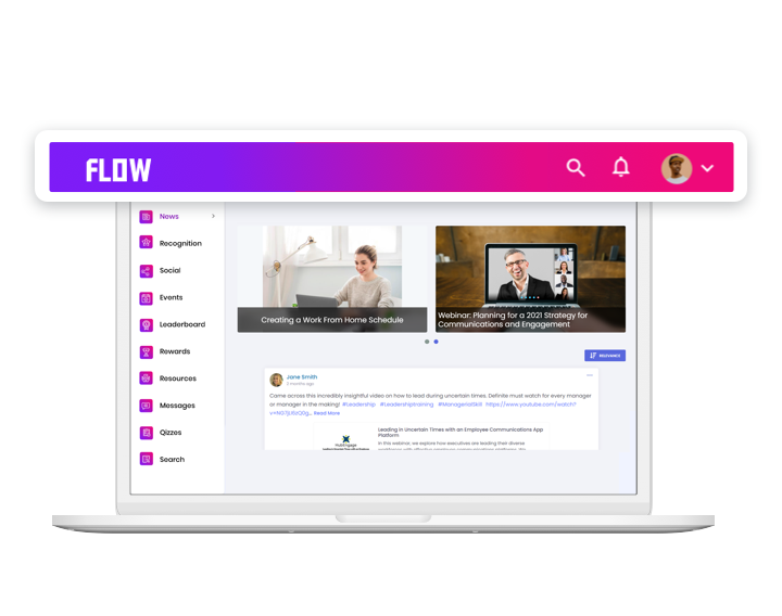create an engaging interface for your intranet