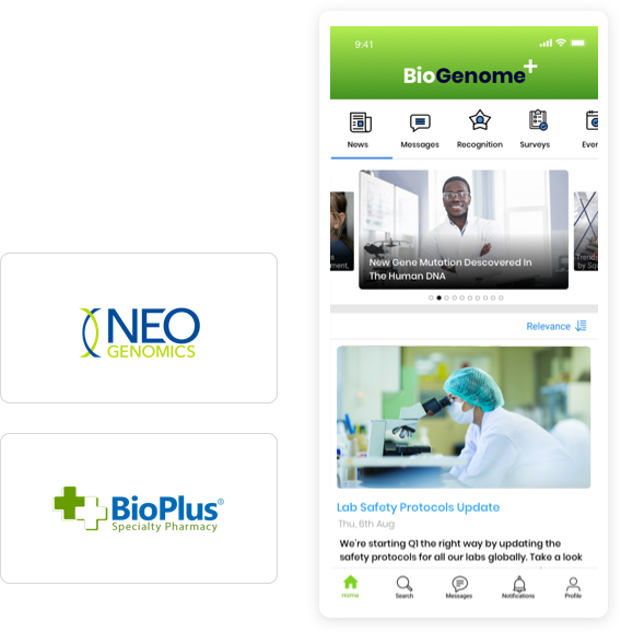 employee experience platform for the biotech industry