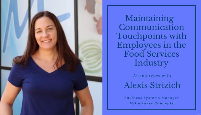 Alexis Strizich M-Culinary Concepts Case Study
