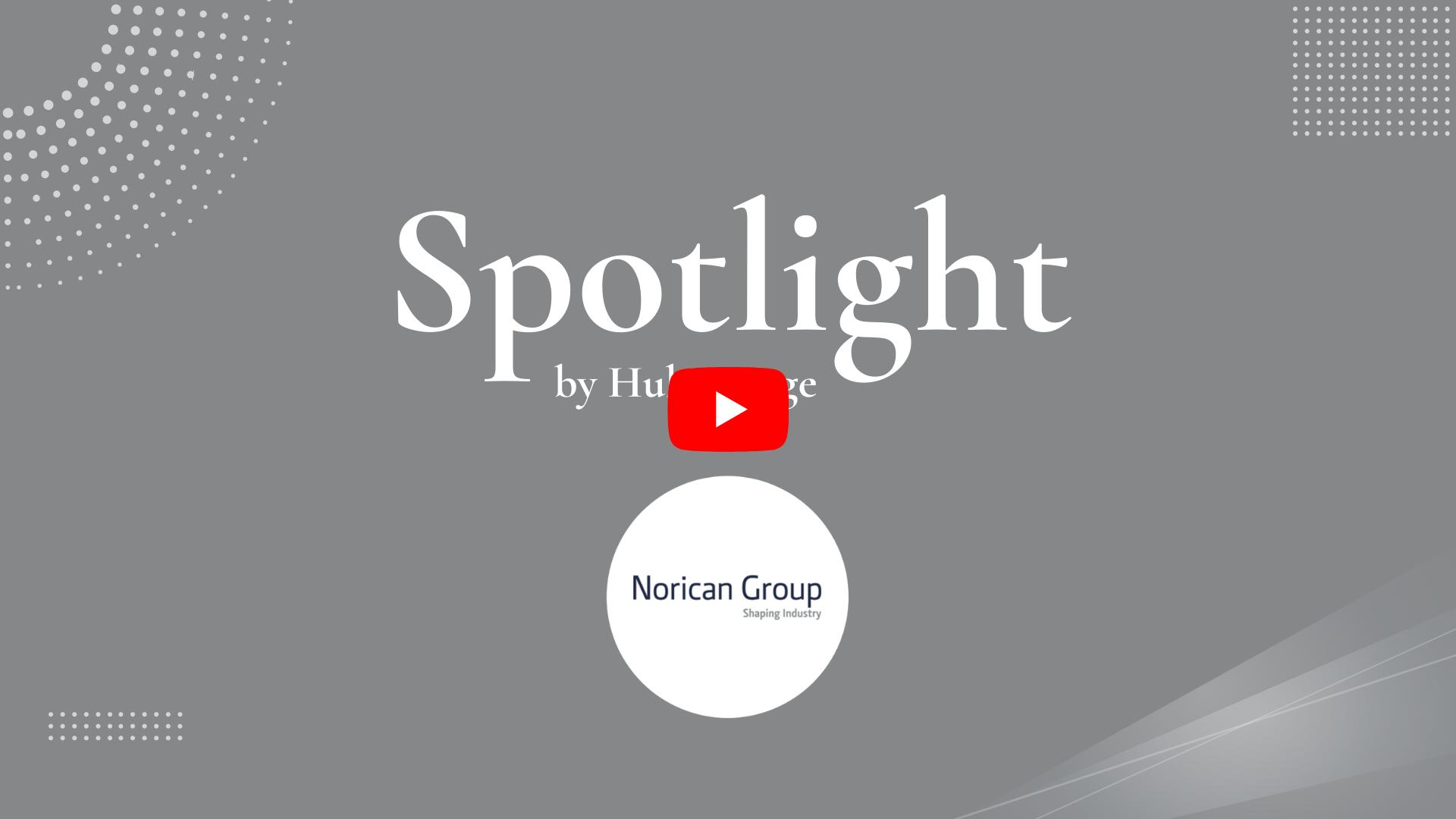 Norican testimonial for HubEngage